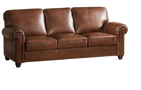leather couches online jane furniture barbara top grain brown leather sofa usa