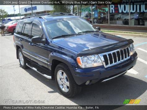 midnight blue jeep midnight blue pearl 2004 jeep grand overland