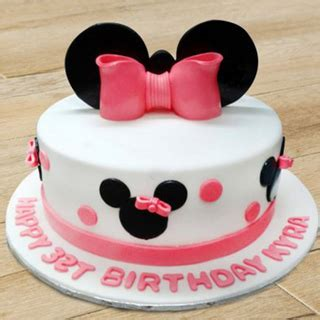 minnie mouse cake disney minnie mouse cake   india