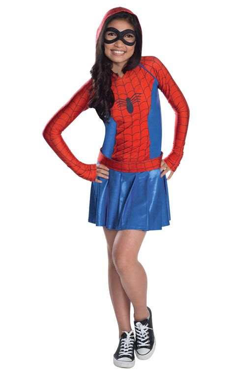 Bba3008 Dress Kostum Hoodie s spider hoodie fancy dress costume