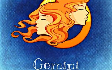 horoscope gemini full hd wallpaper  background image