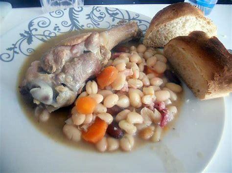 recette de cassoulet au manchons de canard