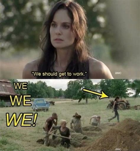 walking dead meme