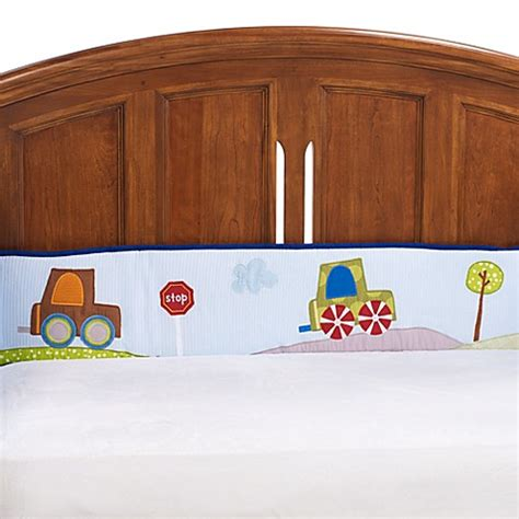 lambs and ivy l buy lambs ivy 174 little travelers crib bumper from bed
