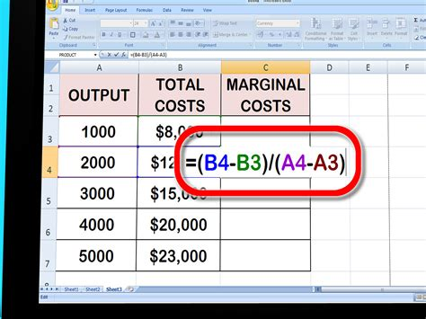 How To Find Of How To Calculate Marginal Cost 11 Steps With Pictures