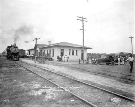 florida memory railroad depot clearwater florida