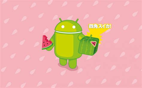 japanese android wallpaper スイカ day android foundry