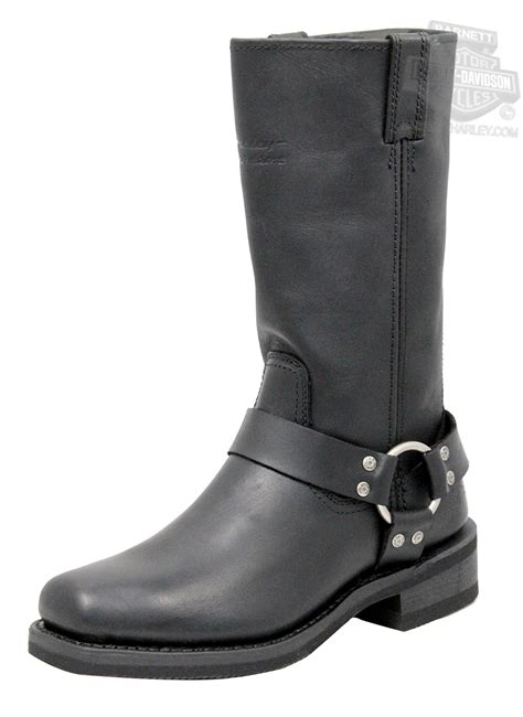 mens harley riding boots 95354 harley davidson 174 mens hustin black high cut riding