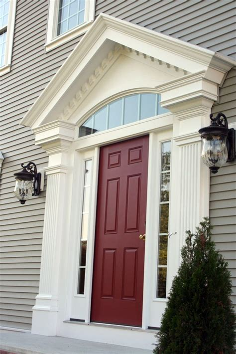 front door molding pictures cellular pvc trim the durable aesthetic option buildipedia
