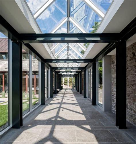 Flat Roof Garage Design lavish canadian home gets a gorgeous modern guest house