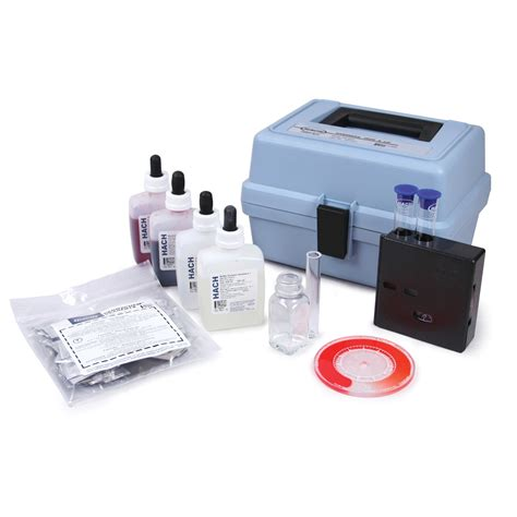 hach test kit hardness iron and ph