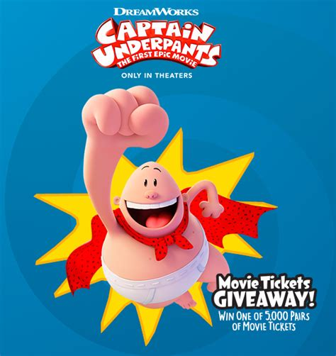 Captain Underpants Sweepstakes - sun maid s captain underpants instant win game familysavings