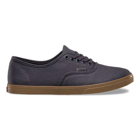 Vans Vans Authentic Gumsole Eclipse Navy gumsole authentic lo pro shop womens shoes at vans
