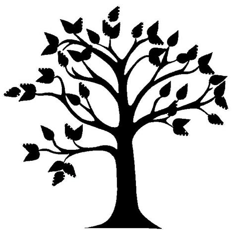 cute simple tree designs free clip art tree outline image cliparts co