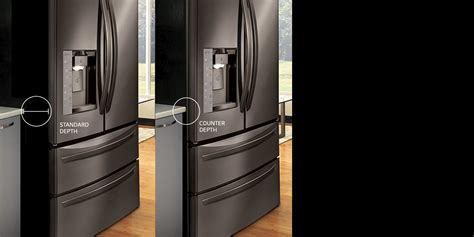 bar top depth lg refrigerators smart innovative energy efficient lg usa