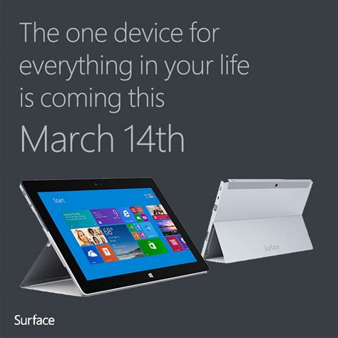 microsoft surface 2 tablet to hit malaysia this march 14th