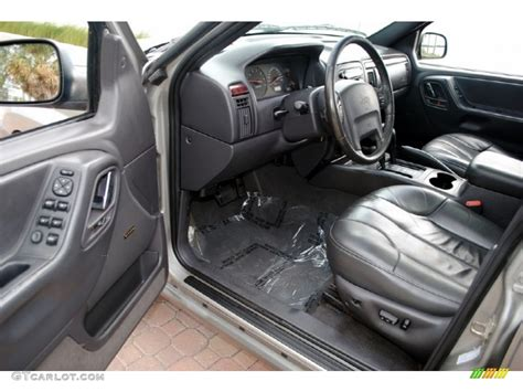 2000 jeep grand laredo 4x4 interior photo