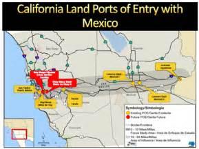 california mexico border map california department of transportation division of