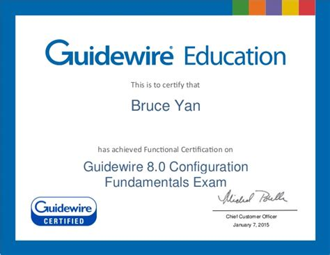 guidewire 8 0 configuration fundamentals certification