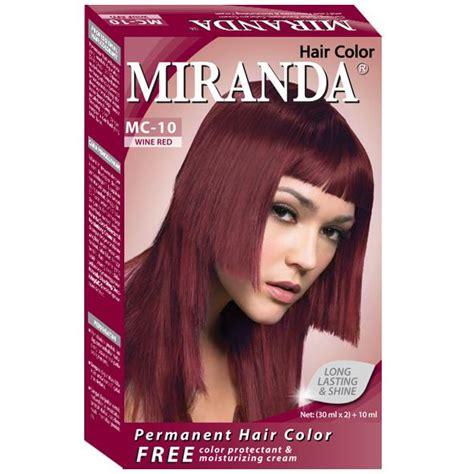 Masker Rambut Miranda miranda hair color elevenia