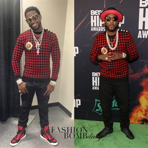 Check Vs Plaid who wore it better gucci mane vs young jeezy in balmain