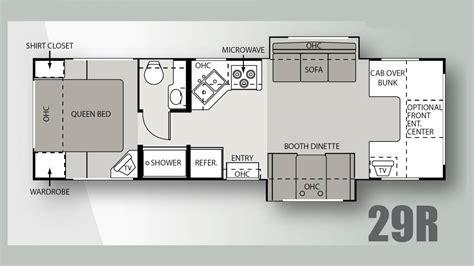 four winds travel trailer floor plans 100 four winds travel trailer floor plans four