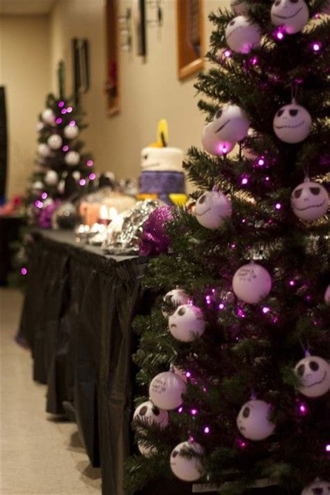 nightmare before christmas birthday party ideas
