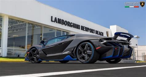 Lamborghini Usa Dealers Lamborghini Centenario In The U S Arrives At