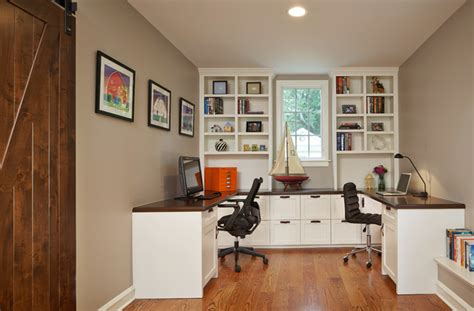 family home office family study traditional home office chicago by