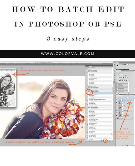 photoshop layout multiple images how to easily batch edit images in photoshop or elements
