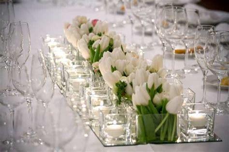 composizioni candele centrotavola per matrimonio con candele