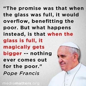 pope mans greed will destroy the world new doctrine progressive charlestown child poverty kills