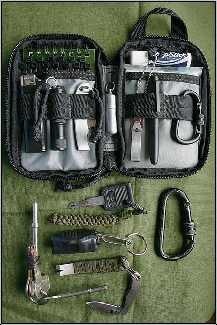 Basic Professional Survival Pocket Kit maxpedition mini pocket organizer survival kit edc pocket organizer survival
