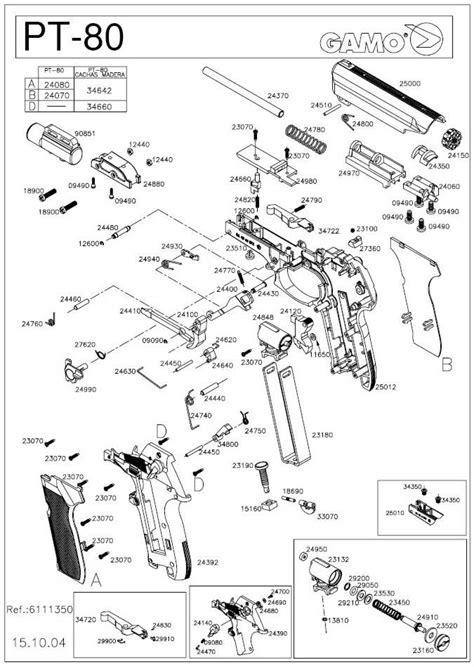 Gas Airsoft Gamo Gold Gamo Gold Series Co2 Airsoft G Berkualitas gamo pt 80 airgun parts breackdown
