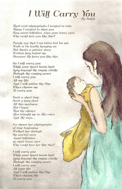 tattoo lyrics big mother thruster 11x17 print mother baby watercolor boundless love by