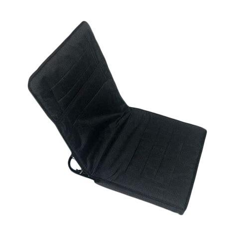 Kursi Lipat Hitam jual folks kursi santai lipat hitam harga