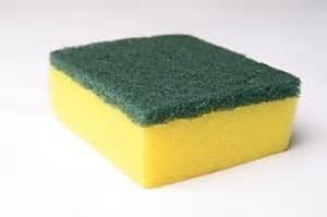 kitchen sponge quick tip kitchen sink and sponges bubblecrumb com