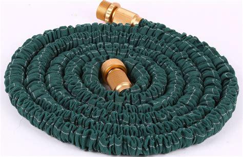 Best Lightweight Garden Hose by Expandable Garden Hose Spray Nozzle Combo 50 Foot