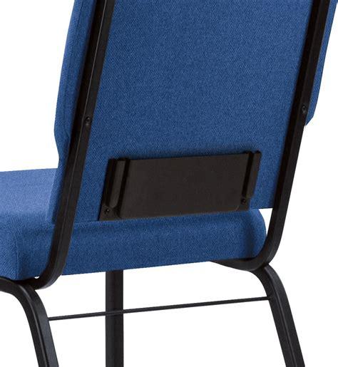 Bertolini Church Chairs by Bertolini Hybrid Church Chairs Black Silver Vein 20 Wide