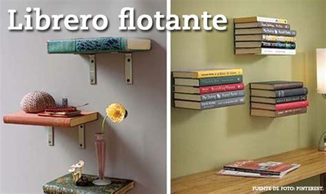 hacer librero flotante libreros flotantes imagui
