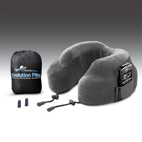 Best Neck Support Pillow Review by Cabeau S Evolution Memory Foam Travel Pillow
