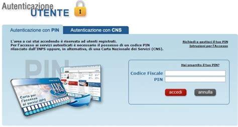 sede inps como richiesta pin inps come ottenere codice e richiedere servizi