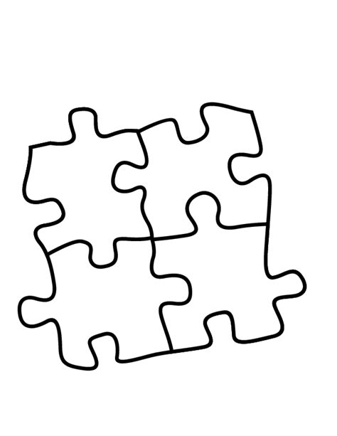 black and white printable jigsaw puzzles puzzle coloring pages 4