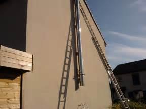 conduit cheminee exterieur pose dun pole bois 13 messages inspiration design