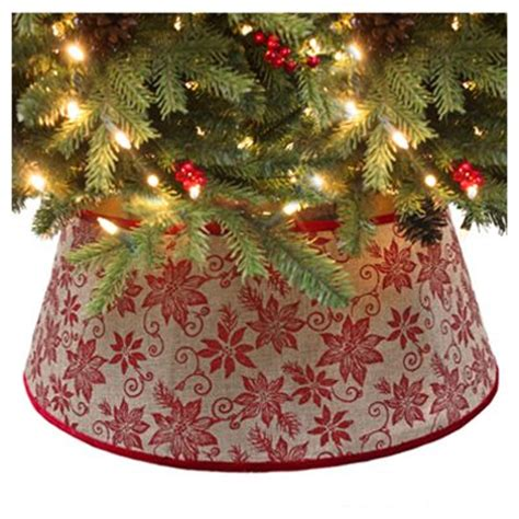 gold christmas tree collar where to buy tree collars simplemost