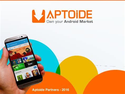 aptoide revenue aptoide partners 2016