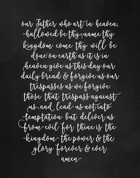 The Lord Prayer the lord s prayer seeds of faith