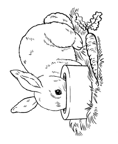 Rabbit Coloring Pages Pdf | rabbits coloring pages az coloring pages
