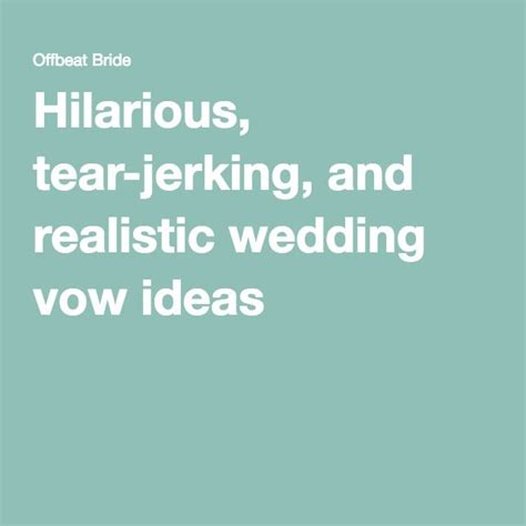 Wedding Ceremony Humor by 440 Best Wedding Vows And Readings Images On A