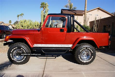 jeep scrambler lifted 1981 jeep cj8 scrambler 4 in lift 35 inch tires with